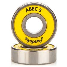 25 mm x 52 mm x 15 mm Width (mm) Andale Andale Abec 5 Skateboard Bearings