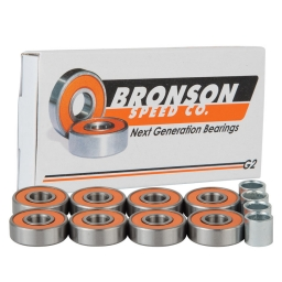 139,7 mm x 214,975 mm x 47,625 mm T Bronson Speed Co. Bronson Speed G2 Skateboard Bearings