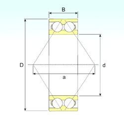 H CYSD 5306 Angular Contact Ball Bearings