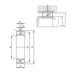 Outer Diameter (mm) FAG 22380-E1A-MB1 Spherical Roller Bearings