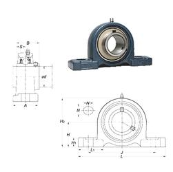 65 mm x 150 mm x 51 mm b1 FYH UCPX10-32 Bearing Units