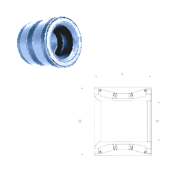 100 mm x 260 mm x 90 mm Bore Diameter (mm) Fersa F15120 Tapered Roller Bearings