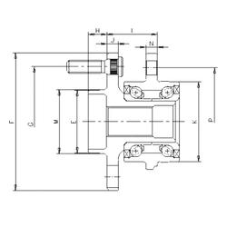 Size (mm) ILJIN IJ113030 Angular Contact Ball Bearings
