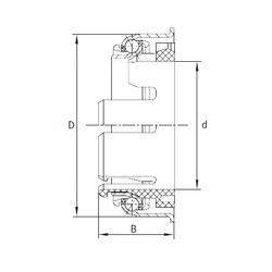 30 mm x 62 mm x 16 mm Basic static load rating (C0) INA F-95843 Angular Contact Ball Bearings