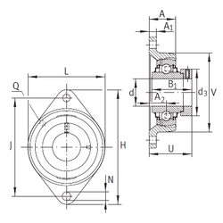 Dce INA LCJT50-N Bearing Units