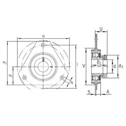 R INA RATR35 Bearing Units