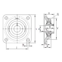 Brand INA RCJY35-N Bearing Units