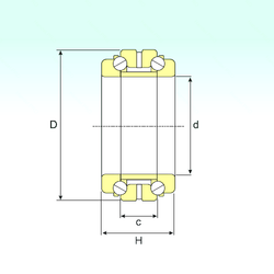 66,675 mm x 112,712 mm x 21,996 mm Width (mm) ISB 234924 Thrust Ball Bearings