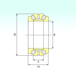 12 mm x 25 mm x 12 mm Static load rating radial (C0) ISB 234940 Thrust Ball Bearings