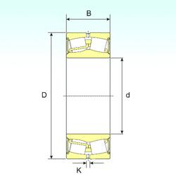 A ISB 24122-2RS Spherical Roller Bearings