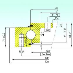 90 mm x 125 mm x 18 mm Size (mm) ISB EBL.30.1455.201-2STPN Thrust Ball Bearings