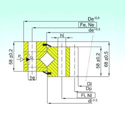 130 mm x 180 mm x 30 mm Basic static load rating (C0) ISB ZR1.20.1904.400-1SPPN Thrust Roller Bearings