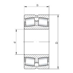 130 mm x 200 mm x 33 mm Cu ISO 22330W33 Spherical Roller Bearings