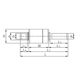 95,25 mm x 168,275 mm x 41,275 mm Brand KBC RW306206 Complex Bearings