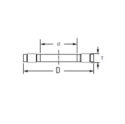 Bore Diameter (mm) KOYO K,81105TVP Thrust Roller Bearings