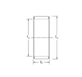 260 mm x 480 mm x 80 mm r1 min. KOYO K100X108X30 Needle Roller Bearings