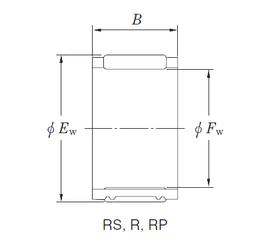 30 mm x 90 mm x 23 mm Outer Diameter (mm) KOYO RFU343920A Needle Roller Bearings