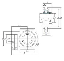 D KOYO UCTX15-48E Bearing Units