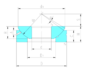 50 mm x 90 mm x 20 mm (Grease) Lubrication Speed LS GX140S Plain Bearings