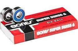 Brand Loyal Bones Super Swiss 6 Skateboard Bearings