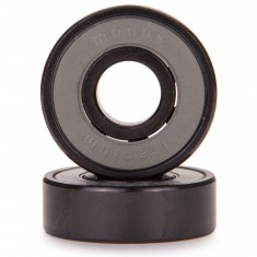 Max. housing corner radius, or 45 deg. chamfer (ch) Loyal Modus Titanium Skateboard Bearings