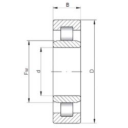 Minimum Buy Quantity Loyal NU1921 Cylindrical Roller Bearings