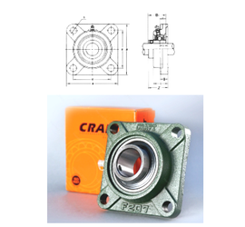 Basic static load rating (C0) Loyal UCF209 Bearing Units