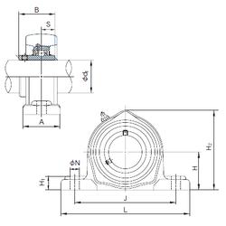 Harmonized Tariff Code NACHI UCPK326 Bearing Units