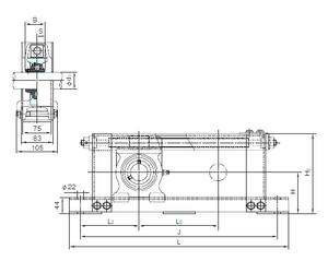 30 mm x 72 mm x 19 mm Brand NACHI UCTU212+WU700 Bearing Units