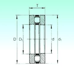 200 mm x 400 mm x 108 mm Bearing number NBS 81156-M Thrust Roller Bearings