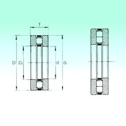 80 mm x 140 mm x 26 mm Basic static load rating (C0) NBS 89308TN Thrust Roller Bearings