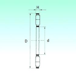 220 mm x 370 mm x 82 mm Bore Diameter (mm) NBS K89432-M Thrust Roller Bearings