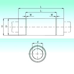 W NBS KBL60211-PP Linear Bearings