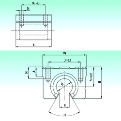 A NBS SBR 16-UU AS Linear Bearings