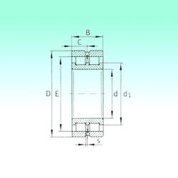 12 mm x 32 mm x 10 mm Da max. NBS SL024928 Cylindrical Roller Bearings