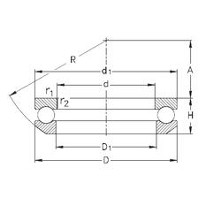 Bore Diameter (mm) NKE 53207 Thrust Ball Bearings