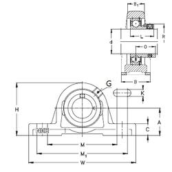 L NKE RASEY80 Bearing Units