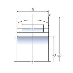 75 mm x 110 mm x 12 mm Width (mm) NSK 160RUB41APV Spherical Roller Bearings
