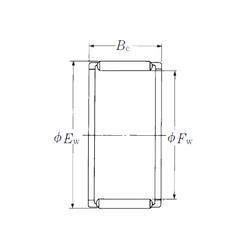 5 mm x 19 mm x 6 mm Outer Diameter (mm) NSK FWJ-364130Z Needle Roller Bearings