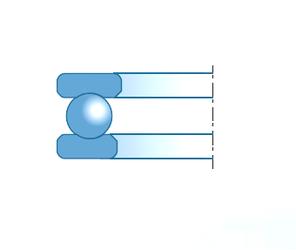 60 mm x 110 mm x 28 mm (Oil) Lubrication Speed NTN-SNR 51205 Thrust Ball Bearings