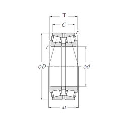 Bearing number NTN 413140 Tapered Roller Bearings