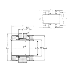 31,75 mm x 52,388 mm x 32 mm (Grease) Lubrication Speed NTN ARN45105 Complex Bearings