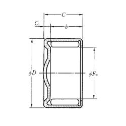 Width (mm) NTN HCK1420 Needle Roller Bearings