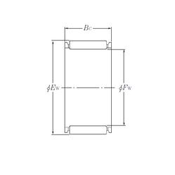 Min. Housing Shoulder Dia., Outer (Uo) NTN KJ32×39×20S Needle Roller Bearings