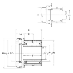 Fw NTN NKXR40T2+IR35×40×20 Complex Bearings