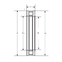 Bore Diameter (mm) SIGMA 81117 Thrust Roller Bearings