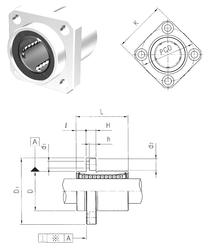 Fatigue load limit – Pu Samick LMEKP30UU Linear Bearings