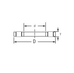 65 mm x 140 mm x 33 mm Outer Diameter (mm) Timken K.81118LPB Thrust Roller Bearings