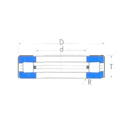 L1 Timken T119 Thrust Roller Bearings