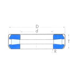 r min. Timken T194W Thrust Roller Bearings